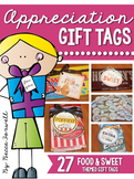 Appreciation Gift Tags {Food & Sweet Themed Gift Tags}