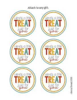 Appreciation Gift Tags {Miscellaneous Themed Gift Tags}