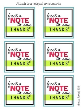 Appreciation Gift Tags {the BUNDLE}