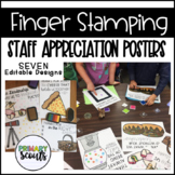 Teacher and Staff Appreciation Posters