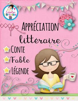 Appréciation littéraire (conte, fable, légende)
