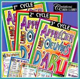 Apprécier les oeuvres d'art: 1er, 2e et 3e cycles, arts plastiques
