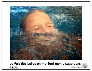Apprendre à nager