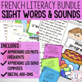 Apprendre les mots ET les sons - FRENCH Sight Words & Sounds BUNDLE