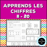 Apprends les chiffres 11 à 20 | French Number Practice 11 to 20