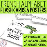 FRENCH Alphabet Flash Cards & Posters - cartes éclairs et