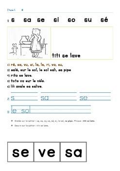 Apprentissage de la lecture en français - Découverte du principe alphabétique