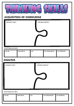 Approaches to Learning Jigsaw