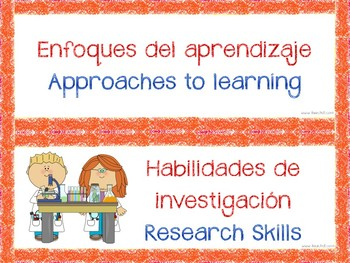 Approaches to learning IB PYP Bilingual