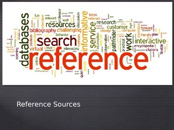 Appropriate Reference Sources