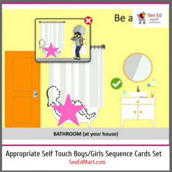 Appropriate Self Touch for Boys + Girls Both – Sequencing Cards