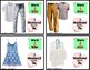 """Appropriate WORK or WEEKEND CLOTHING Task Cards """"Task Box Filler"""" for Autism"""