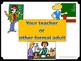 Appropriate vs. Inappropriate / Formal vs. Informal Langua
