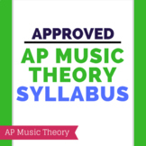 Approved AP Music Theory Syllabus
