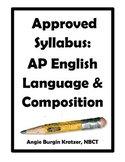 Approved Syllabus: AP English Language and Composition
