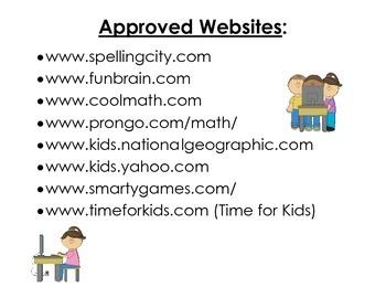Approved Websites Poster
