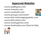 Approved Websites Poster
