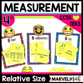 Approximate Length: Relative Size of Metric and Customary Units Game