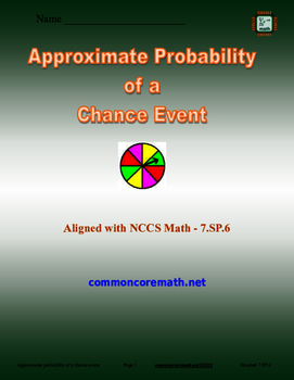Approximate Probability of a Chance Event - 7 SP 6