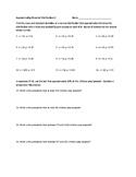 Approximating Binomial Distributions Worksheet #2