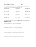 Approximating Binomial Distributions Worksheet