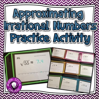 Approximating Irrational Numbers Activity with Targeted Feedback 8.NS.A.2
