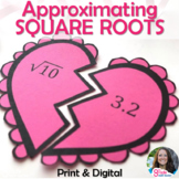 Approximating Square Roots Broken Hearts Activity