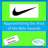 Calculus - Approximating the Area of the Nike Swoosh