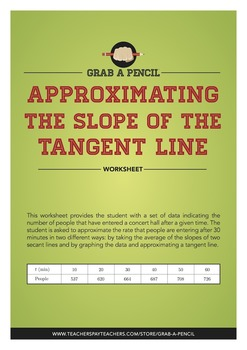Approximating the Slope of the Tangent Line