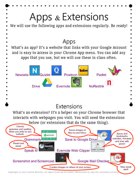 Apps and Extensions Student Handout