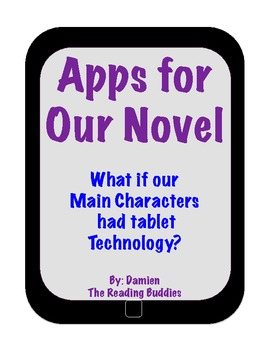 Apps in our Novel- What if our Main Characters had Tablet Technology?