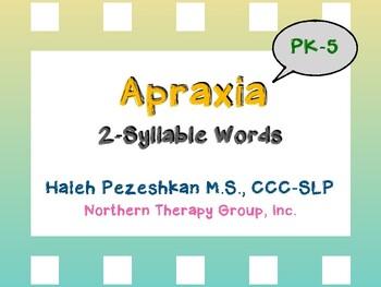 Apraxia 2-Syllable Words