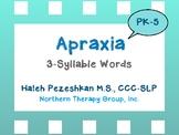 Apraxia 3-Syllable Words