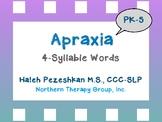 Apraxia 4-Syllable Words