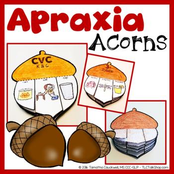 Apraxia Acorns: Acorn Craft for Apraxia