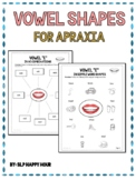 Childhood Apraxia of Speech: Apraxia Vowels {ah, ee, oh, ai, ay}