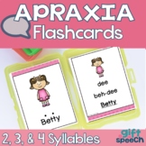 Apraxia & Articulation Cards CVCV, CVCVCV, and CVCVCVCV Pr