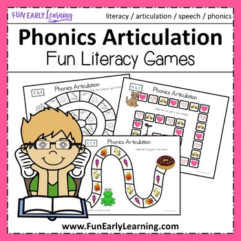 Apraxia Articulation Games - Initial Sounds