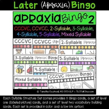 Apraxia Bingo: BUNDLED