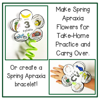 Apraxia Blooms: Flower Craft and Bracelets for Apraxia