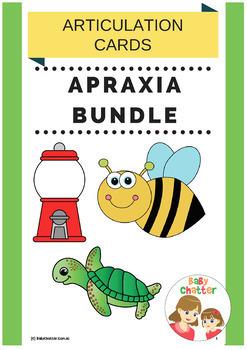 Apraxia Bundle for Childhood Apraxia