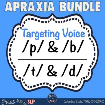 Apraxia Bundle to Target Voicing: Cognates p & b
