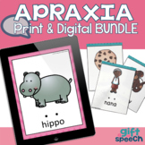 Apraxia Cards CVCV, CVCVCV, & more Digital & Print Bundle