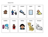 Apraxia CVCV word pictures