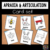 Apraxia Cards Speech Therapy