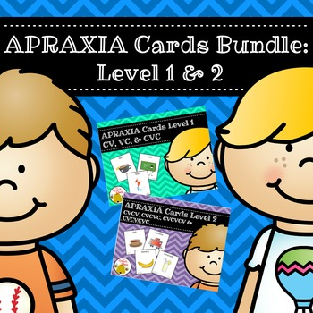 Apraxia Cards Bundle