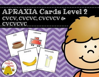Apraxia Cards Level 2