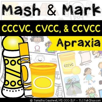 Apraxia Mash & Mark: CCCVC, CVCC, CCVCC