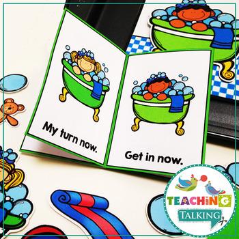 Apraxia of Speech Activities Bath Time Pack