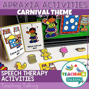 Apraxia - Interactive Apraxia Activities (Carnival)